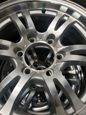 Camper tires and Rims 16 inch 6 lug x 5 1/2 for Sale in Indianapolis, IN