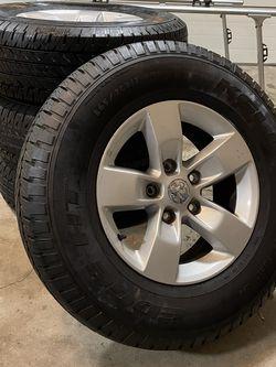 Stock Factory Ram 1500 Rim Set Plus Tires for Sale in Mount Prospect,  IL
