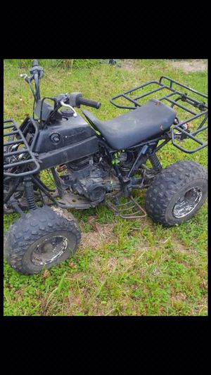 Kawasaki Four wheeler for parts or for repair for Sale in Houston, TX