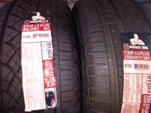 A pair of new tires 235 55 17 for Sale in Yucaipa, CA