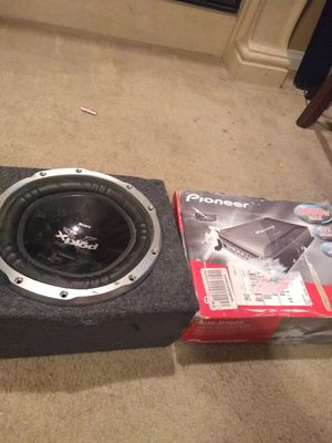 Amp & sub combo for Sale in Sloan, NV