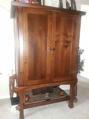 TV Armoire Entertainment Center for Sale in Fort Worth, TX