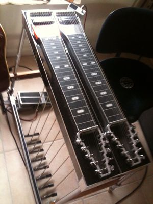 MCI. Pedal Steel Guitar. Made by Carter steel guitars for Sale in Unionville, MI