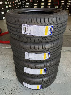 BRAND NEW SET OF GOODYEAR TIRES 235/45/18 for Sale in Bloomington, CA