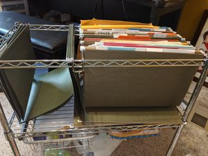 Filing cabinet/ rolling cart/ organizer for Sale in Tijeras, NM