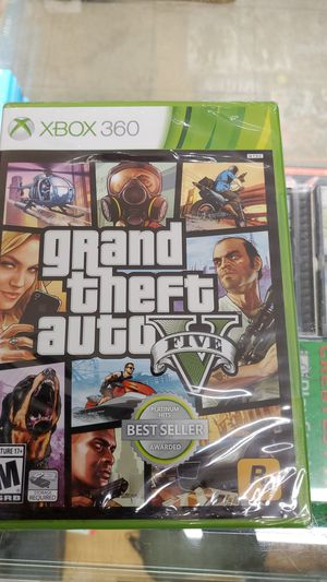 Grand theft v xbox 360 brand new for Sale in TEMPLE TERR, FL