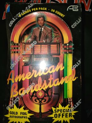 AMERICAN BANDSTAND COLLECTOR CARDS for Sale in Tacoma, WA