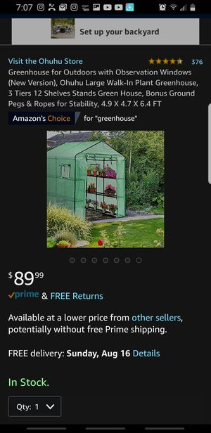 Green house invernadero o vivero for Sale in Fontana, CA