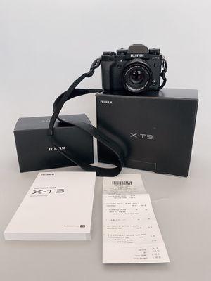 Fuji film X-T3 camera and Fijinon 35mm 1.4f lens for Sale in Brooklyn, NY