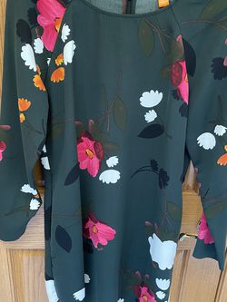 Green Floral Tunic Dress By Joe Fresh for Sale in New Lenox,  IL