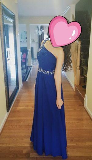 Prom flowy blue dress for Sale in Rockville, MD
