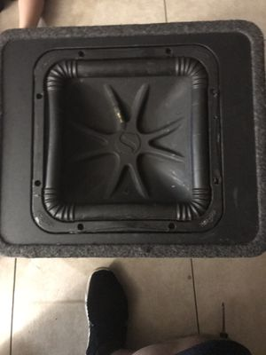 "Kicker L5 12"" & DX500.1 D class amp for Sale in Fresno, CA"