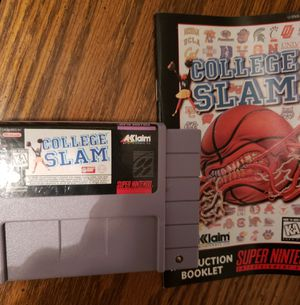 Super Nintendo College Slam for Sale in Mt. Juliet, TN