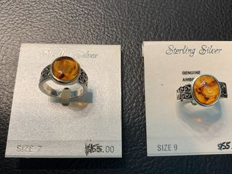 Sterling Silver Engagement Ring Size 7 And 9 for Sale in Germantown,  MD