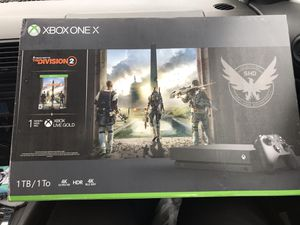 Xbox 1 x Division 2 bundle for Sale in South Brunswick Township, NJ