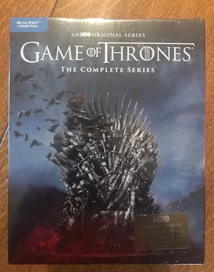 Game of Thrones Complete Series Collector's Edition Blu-Ray, Disney marvel Harry Potter DC movies 3D Bluray and dvd collector's for Sale in Everett, WA