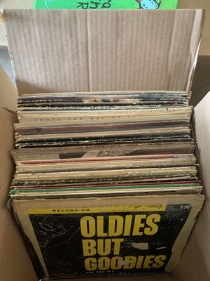 Free box of miscellaneous records for Sale in Chino Hills, CA