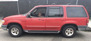 1999 Red Ford Explorer XLT, Sport utility, 4 WD, 5 doors, Gas for Sale in Santa Monica, CA
