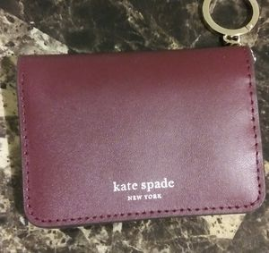 "Maroon ""Kate Spade"" Card case for Sale in Mesa, AZ"