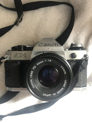 Cannon ae1 program 35mm film camera for Sale in Queens, NY