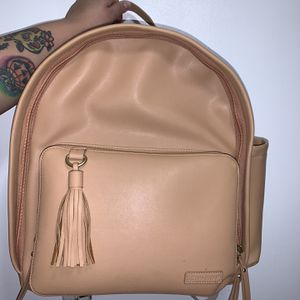Skip Hop Faux Leather Caramel Diaper Bag for Sale in Carson, CA