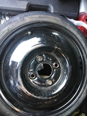 1/4 98 99 00 01 02 HONDA ACCORD SPARE TIRE WHEEL 4 LUGS 4 CYLINDERS for Sale in Riverside, CA