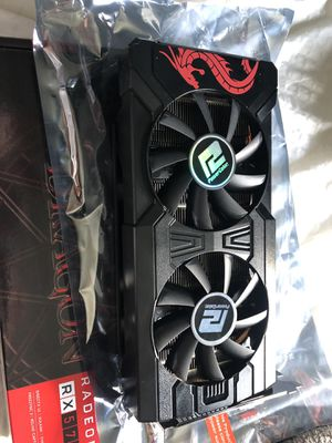 Rx 570 red dragon for Sale in San Juan Capistrano, CA
