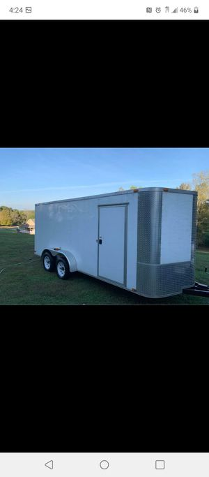 7x16 enclosed trailer price is firm for Sale in Rossville, GA
