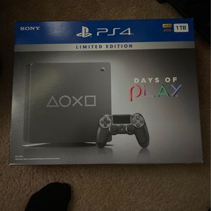 PS4 Limited Edition Days of Play 1TB for Sale in Miami, FL