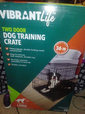 Dog crate. Large for Sale in Hampton, VA