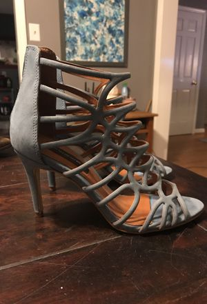 Steve Madden Pale Blue Sandal Heels Size 8.5 for Sale in Chapel Hill, NC