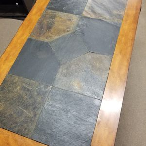 Wood And Marble Coffee Table for Sale in Fresno, CA