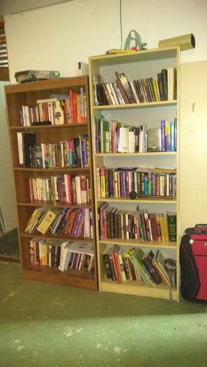 Bookshelves with books for Sale in Philadelphia, PA