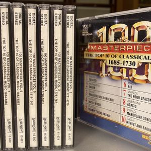 Classical Music CD Set (10 CD) for Sale in Foxborough, MA