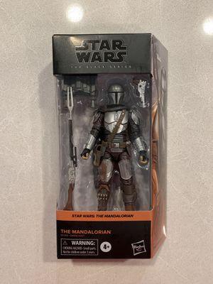 The Mandalorian Black Series Figure Beskar Armor Star Wars E9358 Disney Hasbro for Sale in Lewisville, TX