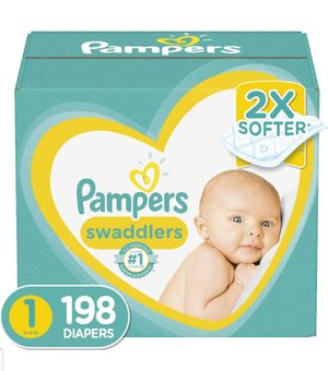 Diapers Newborn/Size 1 198count for Sale in New York, NY