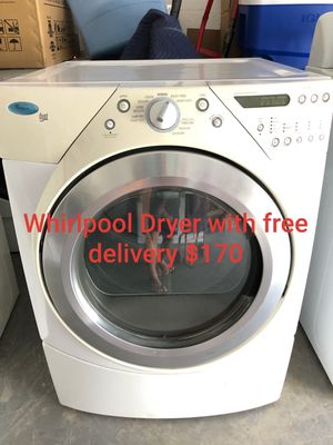 Whirlpool dryer super capacity with free delivery for Sale in Lakeland, FL