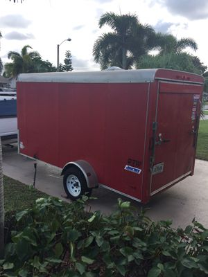 Enclosed cargo trailer 6.5 x 12 American Pace Journey (2017) READ BELOW for Sale in Deerfield Beach, FL
