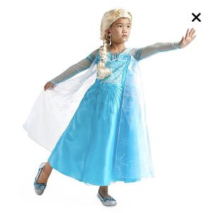 Queen Elsa Toddler Costume (Size 3) for Sale in Milpitas, CA