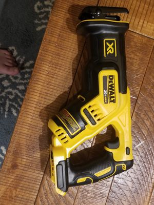 New DEWALT Compact Reciprocating Saw 20V MAX XR BRUSHLESS (tool only) model# DCS367 for Sale in Washington, DC