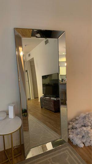 Floor standing mirror for Sale in Irvine, CA