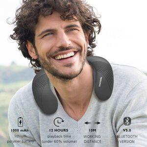 Neckband Portable Bluetooth Speakers, Wireless Wearable Speaker, 3D Stereo Built-in Mic for Sale in Katy, TX