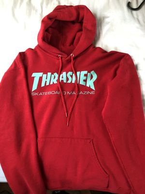 Thrasher red hoodie for Sale in Charlotte, NC