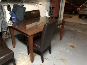 Dinner table with 4 chairs for Sale in Richmond, CA