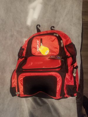 New!! Rip-It Pack It Up Softball/Baseball Backpack Condition is New with tags. for Sale in Downey, CA