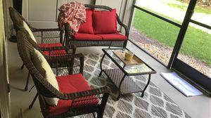 Outdoor patio furniture-wicker for Sale in Sunrise, FL