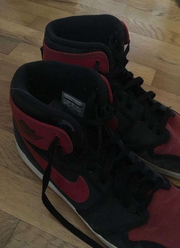 Jordan 1 red size 14