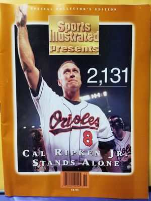 Call Ripken Jr. Special Collectors Edition Sports Illustrated 2131. Nearly perfect condition. for Sale in Glen Burnie, MD