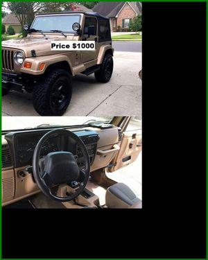 ֆ1OOO_1999 Jeep Wrengler for Sale in Downey, CA