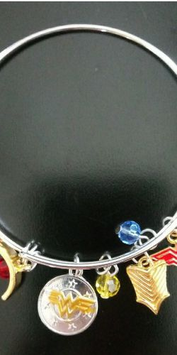 Wonder Woman Charm Bracelet for Sale in Silver Spring,  MD